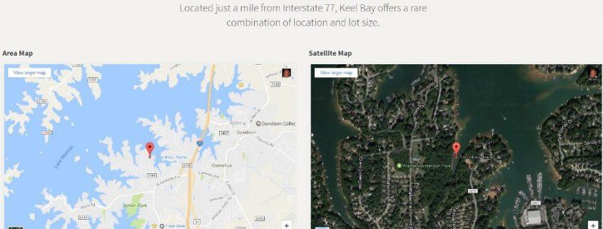 Keel-Bay-Waterfront-Lots-Map-Cornelius-NC